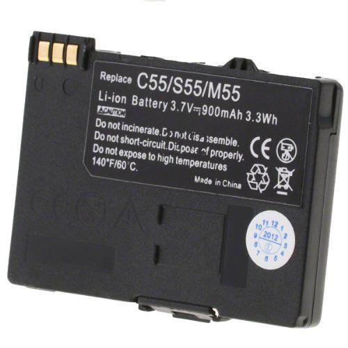 Helos - Batería de ion de litio (900 mAh) para Siemens C55 B000OIB6VK - http://www.comprartabletas.es/helos-bateria-de-ion-de-litio-900-mah-para-siemens-c55-b000oib6vk.html