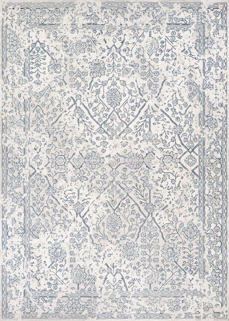 Marina Oyster/Slate Blue Rug