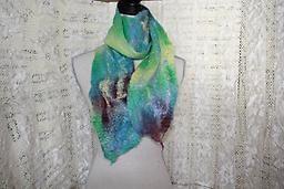 Wool Scarf Wool/Silk Scarf