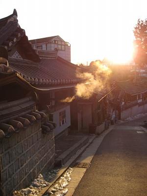 Bukchon Hanok Village, Seoul, S.Korea, 2010