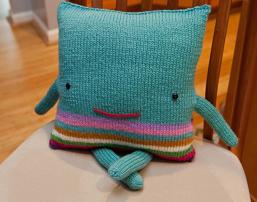 """Squarey""... like a pillow buddy!"