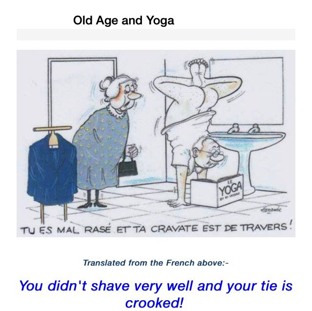 Old age and yoga. | Funny, Humour, Jokes | Pinterest ... Old Age Funny