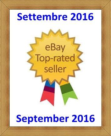 Presenti sul market place #Ebay Classificati tra i venditori di #Affidabiltà Top