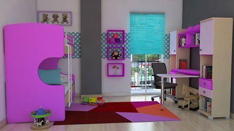 """Διπλή κουκέτα, για ξεχωριστό σχεδιασμό δωματίωνκαι """"πλέξιμο"""" χρωμάτων της επιλογής σας. Συνδυάστε την με το γραφείο !Στην κουκέτα ScrillBunk μπορείτε να προσθέσετε το συρόμενο αποθηκευτικό ντουλάπι ή το πτυσσόμενο κρεβάτι  για να έχετε ένα έξτρα κρεβάτι για τους καλεσμένους σας."""