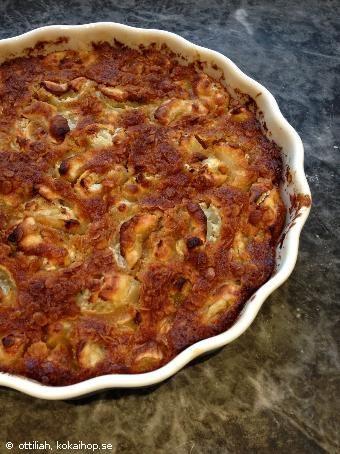 Recept - Knäckig äppelpaj