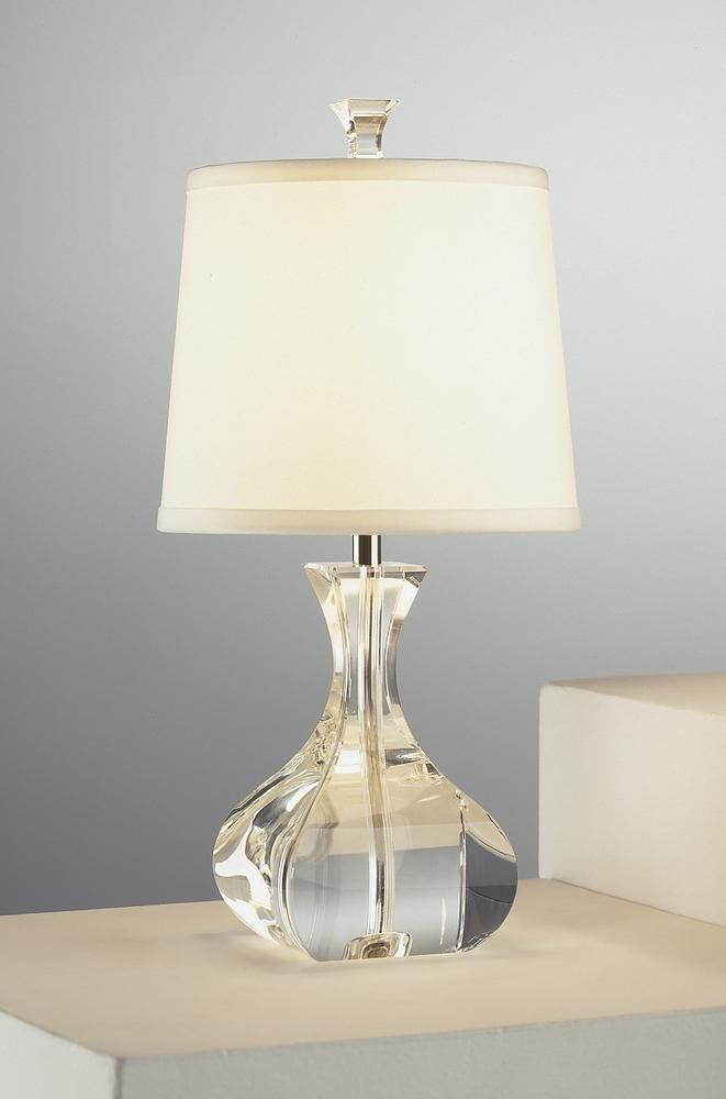 Clear table lamp 216qj dulles electric supply corp