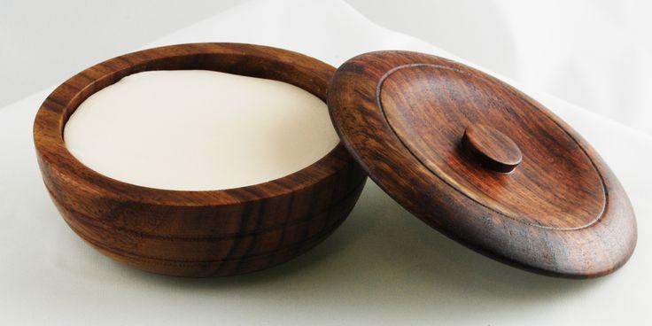 Taylor of Old Bond Street Sandalwood Shaving Soap in Wooden Bowl - $26.99 :