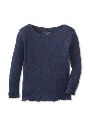 46% OFF Stella McCartney Kid's Ribbed T-Shirt (Petrol)