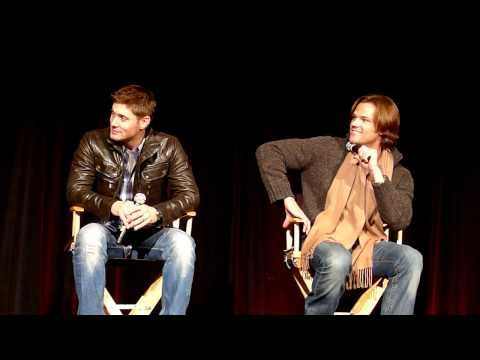 Really funny vid of Jared and Jensen talking about shows they watch bc of their wives. The best part is when their bodyguard rats on them about crying during Extreme Makeover Home Edition. lol