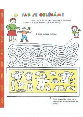 """""""Veselá školka"""" Šumperk: tř.Broučci:prezentace - Fotoalbum - LABYRINTY - pracovní list"""