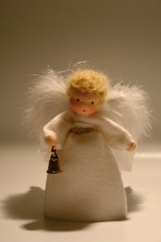 Weihnachtsfiguren - Engel - Blumenkind - Jahreszeitentisch - ein Designerstück von Katjas-Puppenstuebchen bei DaWanda