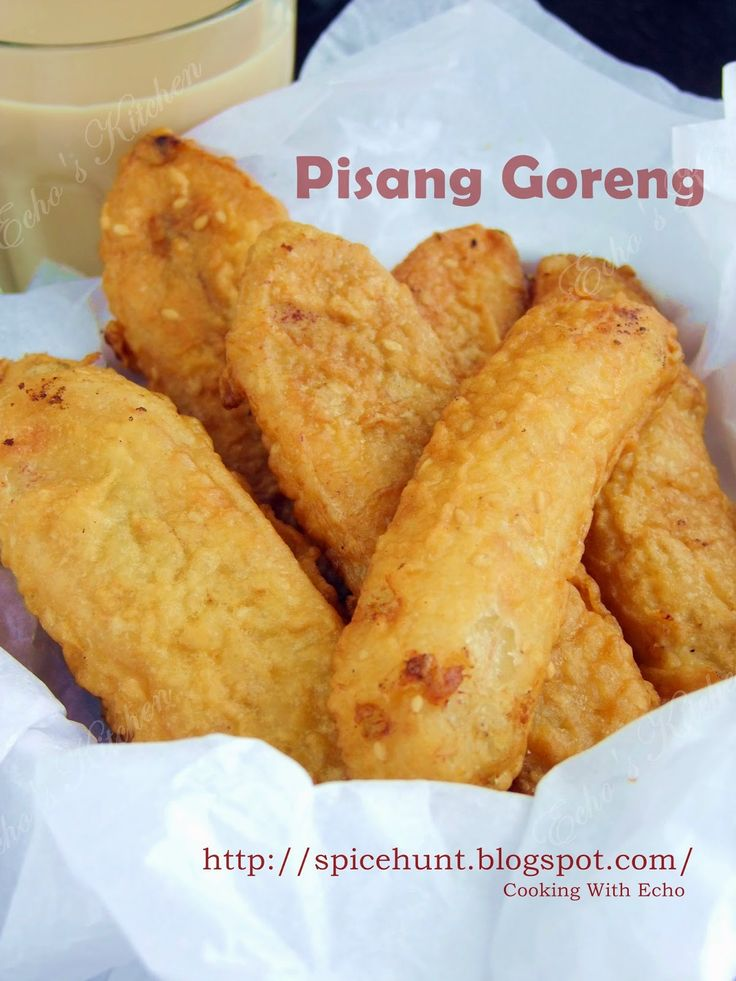 A taste of memories -- Echo's Kitchen: Pisang Goreng (Banana Fritter)