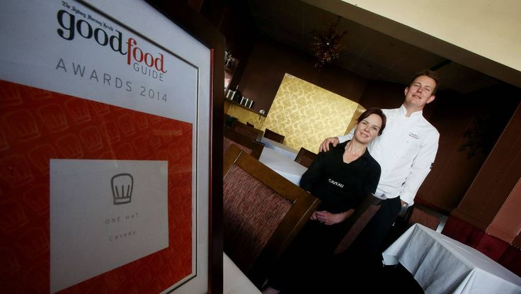 Caveau has won its ninth consecutive hat award in the Good Food Guide 2014 - the only Wollongong restaurant to be recognised at such a high level.