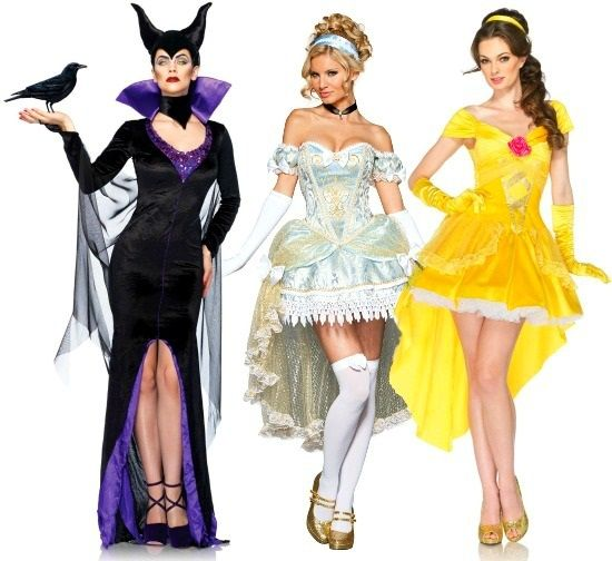 High Low Hem Disney Costumes