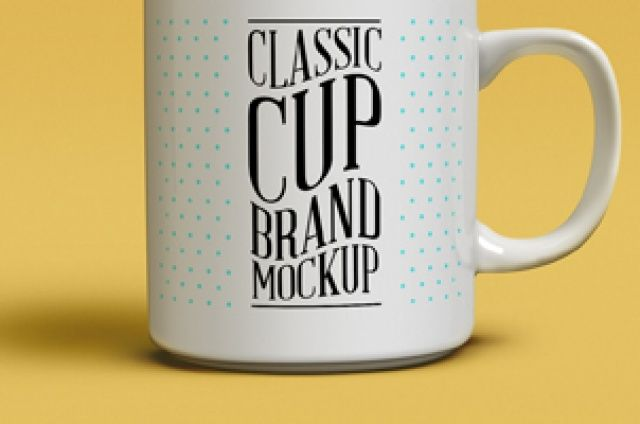 A classic and very sharp psd coffee mug mockup to let you showcase your branding designs.It uses smart layers to make...