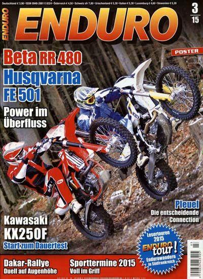 Beta RR 480 - Husqvarna FE 501 - Power im Überfluss. Gefunden in: Enduro, Nr. 3/2015