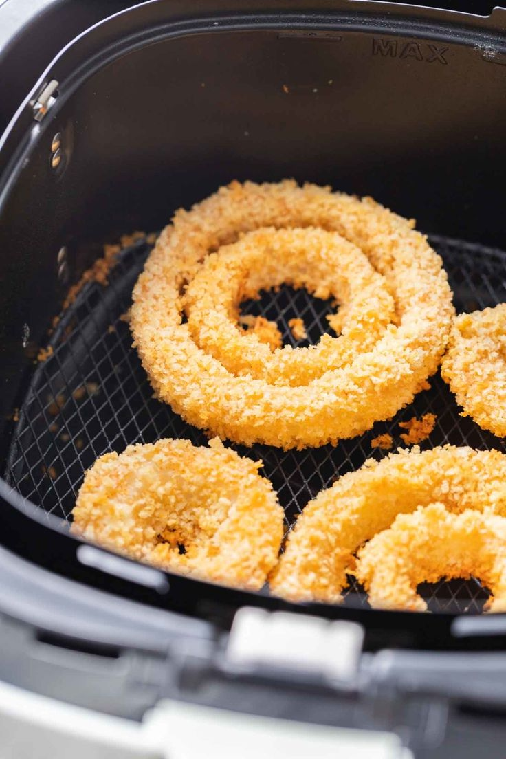Air Fryer Onion Rings are extra crispy and make a perfect