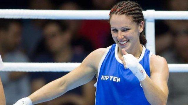 Mandy Bujold, Caroline Veyre win boxing gold