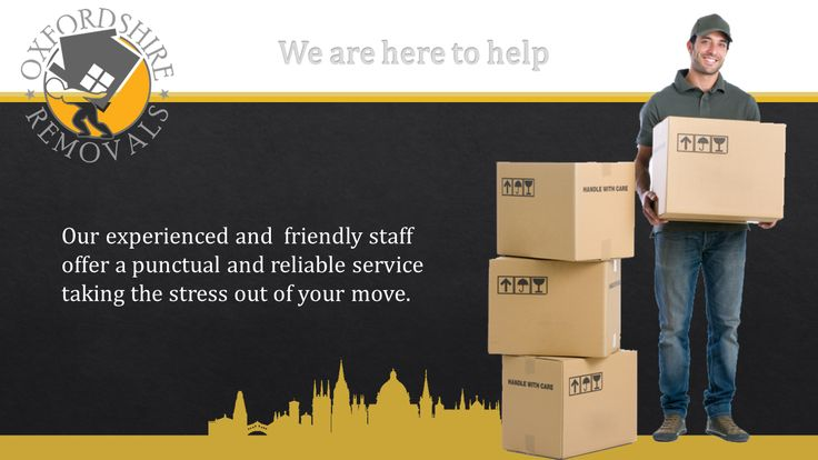 Man and Van Oxford. Our experienced and  friendly staff offer a punctual and reliable service taking the stress out of your move.