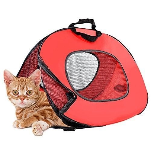 Cat Carrier Pet Cage Crate Small Dog Carrying Case Handbag Kennel