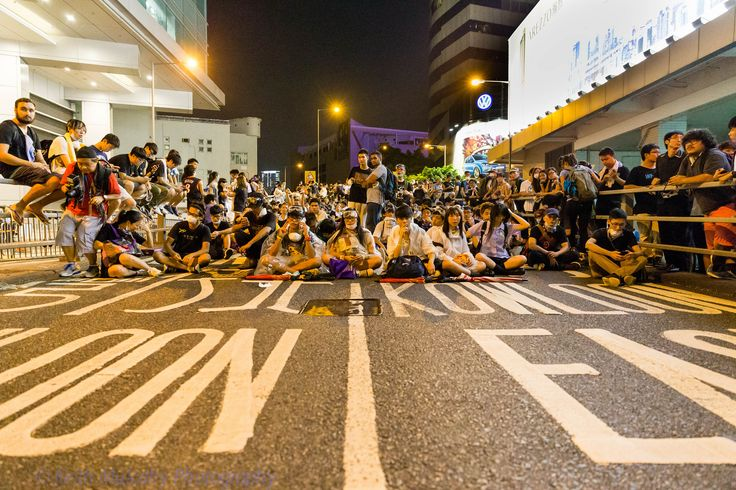 Pro-democracy in Hong Kong