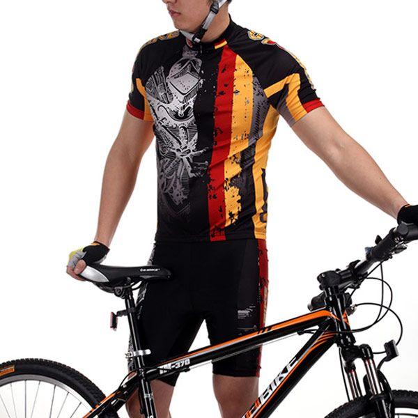 Set Maillot con Culotte para Ciclismo Bicicleta MTB Tallas S a XXXL