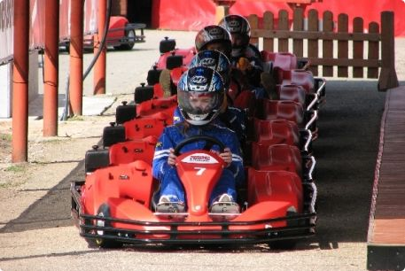competition is starting - outdoor karting #stagdo #tallinn