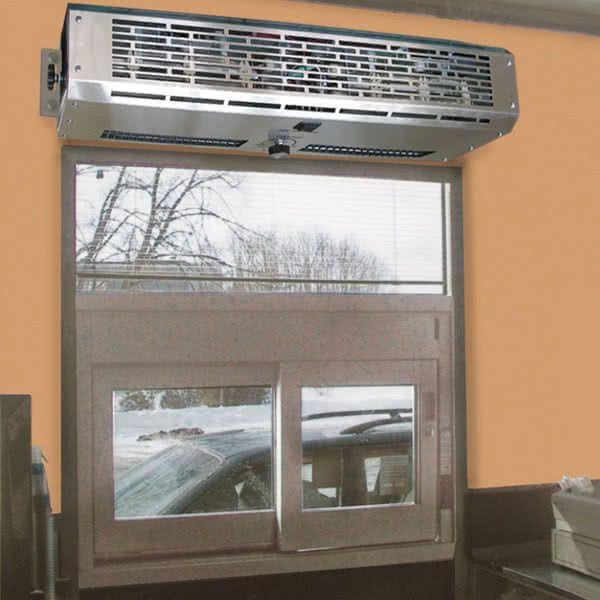 Curtron Dt 24 2 Go Pro 24 Drive Thru Window Air Curtain 120v