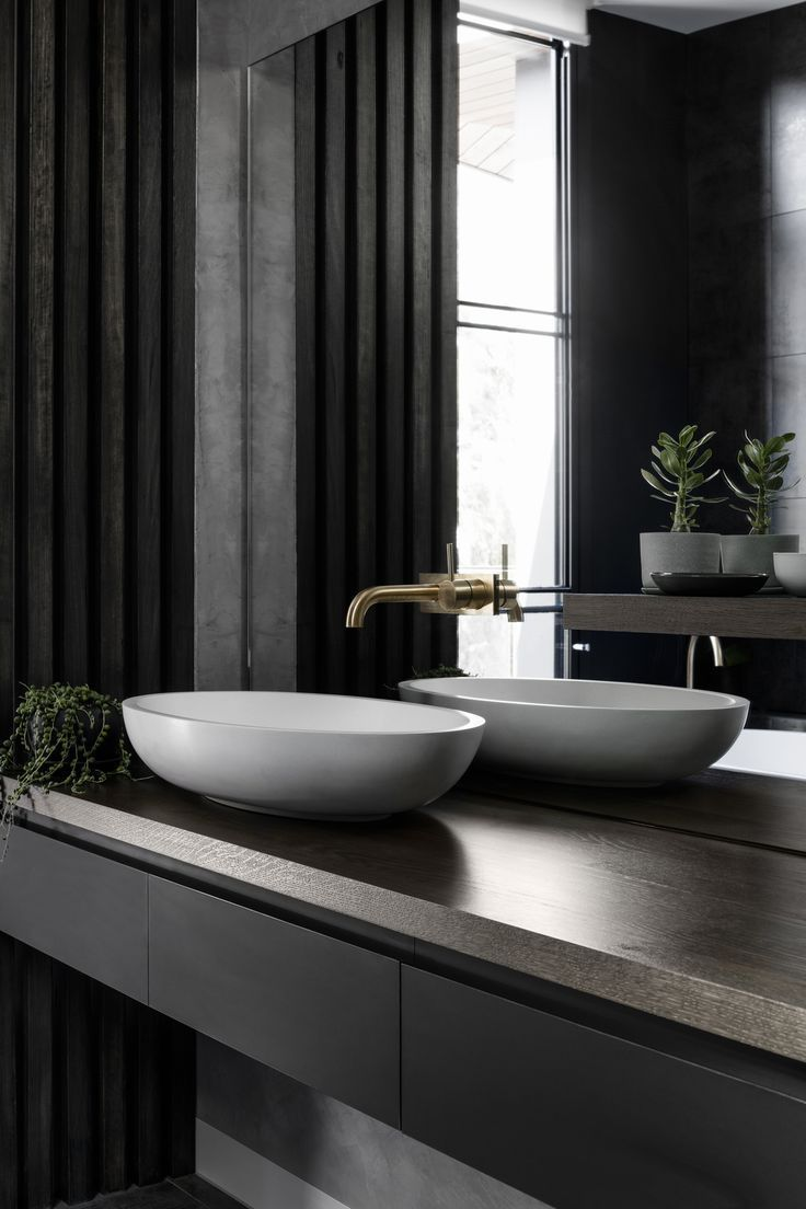 Credits: Middle Park Residence by Baldasso Cortese Architects   wash basin ideas...