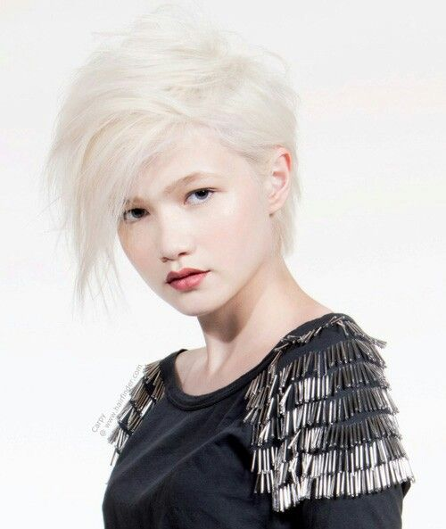 58 best Punk Rocker Haircuts For Girls images on Pinterest   Pixie ...