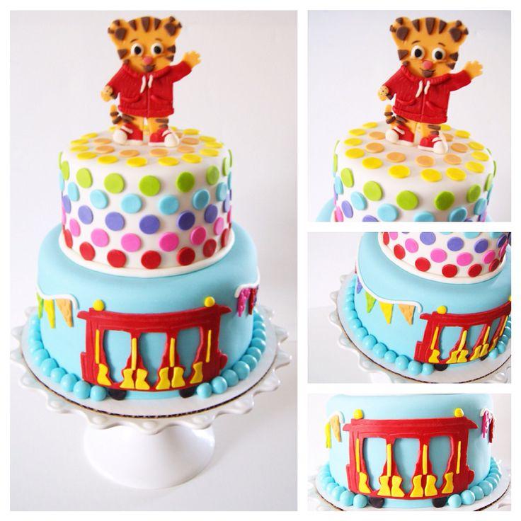 Best 25 Daniel Tiger Cake Ideas On Pinterest Daniel