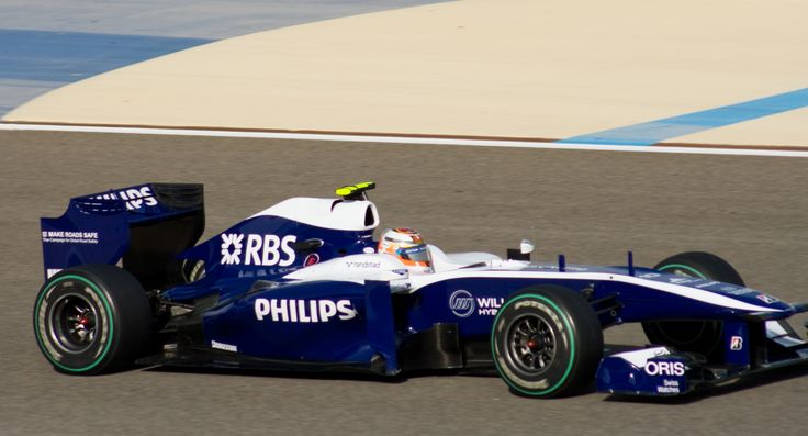 2010 GP Bahrajnu (Nico Hülkenberg) Williams FW32 - Cosworth
