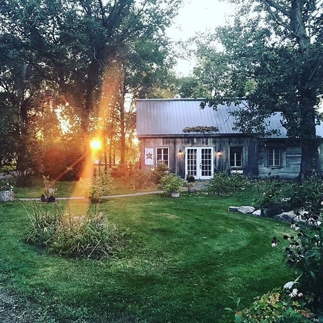 It's a wrap! #country #barn #garden #boutique #landscape #magic #happyday
