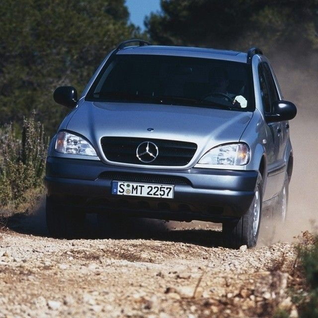 Mercedes-Benz claimed its very first SUV in 1997 with the introduction of the M-Class. On top of its luxury options and athletic performance, the M-Class gained quick acclaim for its advanced safety systems, including it's 4MATIC all-wheel drive. Even from the beginning, the M-Class was prepared to handle any road, or, depending on your sense of adventure, no road at all.  #Mercedes #Benz #MClass #SUV #4MATIC #NYIAS2015 #NYIAS #AutoShow #NewYorkInternationalAutoShow #instacar…