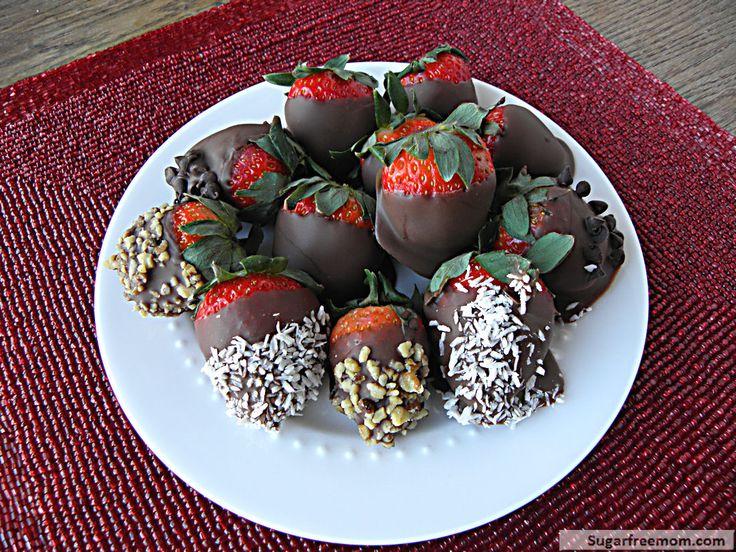 Chocolate Covered Strawberries [Dairy Free, Refined Sugar Free]