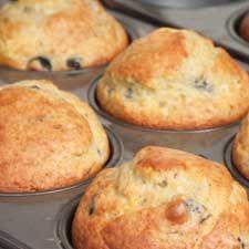 #Muffins aux #bleuets