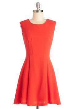 Tangerine Dream Come True Dress, #ModCloth