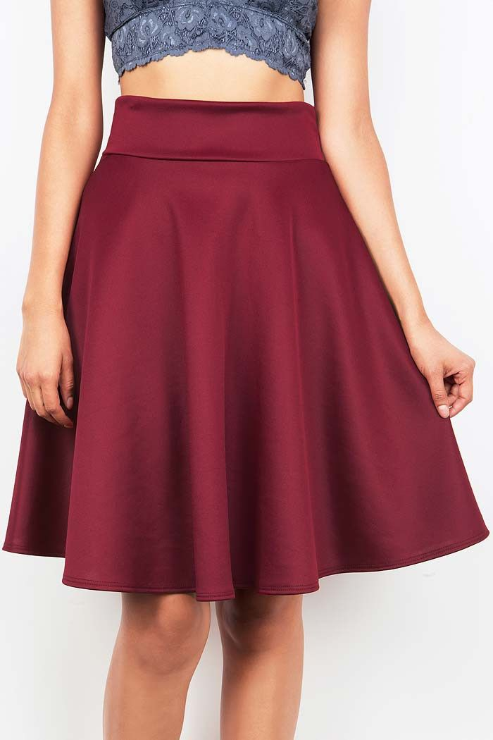 Bloomer Midi Skirt