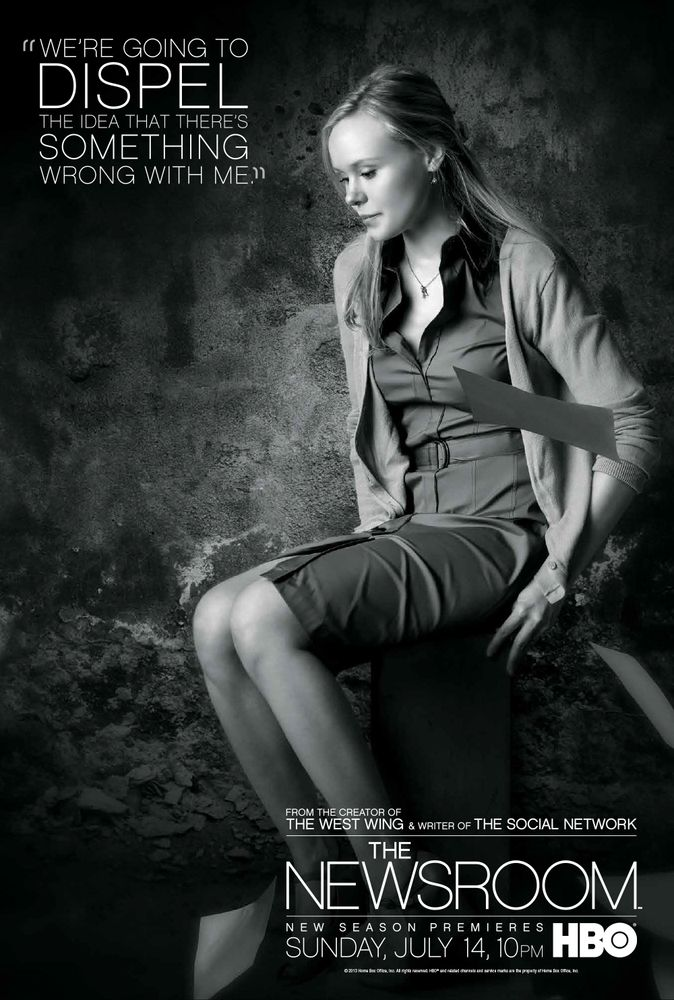 "Maggie, ""The Newsroom"" Alison Pill as Maggie Jordan on HBO's ""The Newsroom"" Season 2."