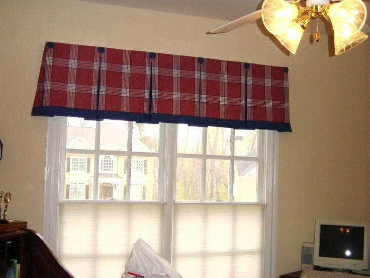 how to make pleated valances for windows
