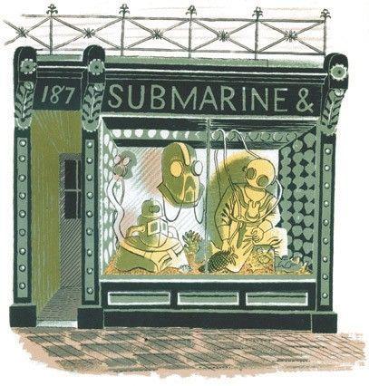Submarine Shop - Eric Ravilious