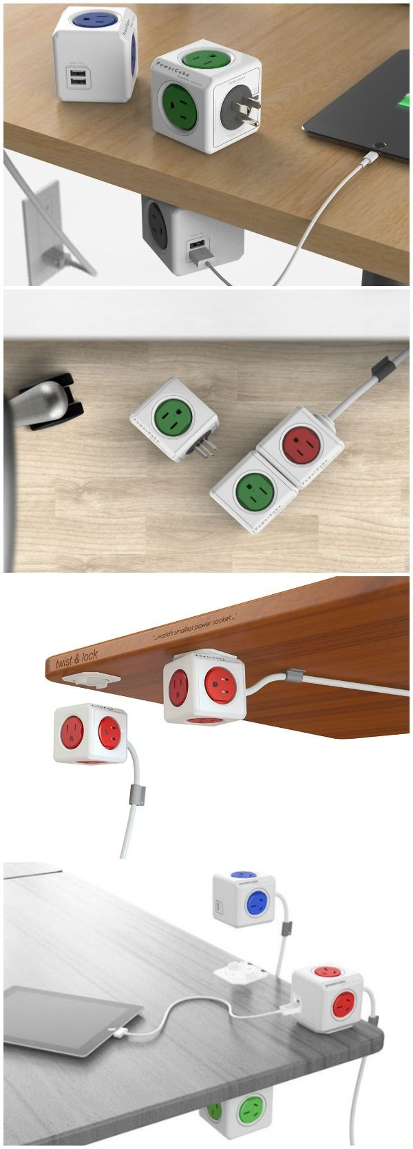 PowerCube - Power Strips Don't Have to Look Boring