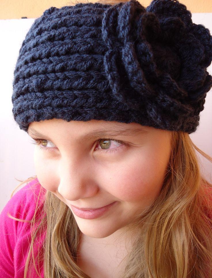 faixa de cabelo,tiara em trico,moda inverno