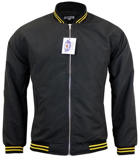 Monkey Jacket in Black/Yellow from Madcap England #madcapengland #monkey #jacket #retro #mod #60s #fashion