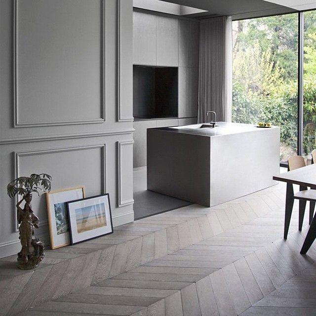Best 25+ Grey Wooden Floor Ideas On Pinterest
