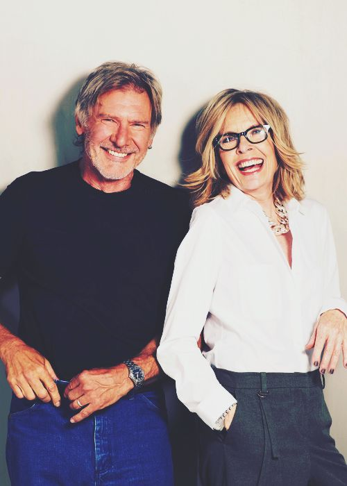 OMG. BEST PHOTO EVER! There is hope for us all as we get older with grace & style - Harrison Ford and Diane Keaton