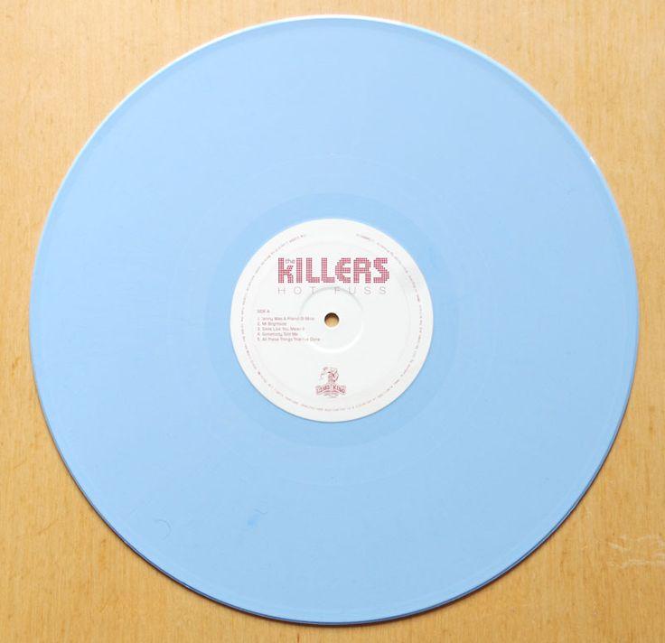 The Killers – Hot Fuss blue vinyl