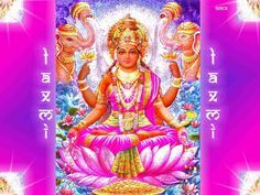 108 Names of Hindu Goddess Maha Lakshmi with Sanskrit name, Meaning and Mantra
