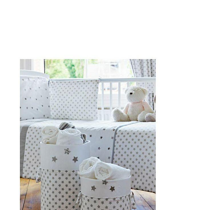stars storage tubs 2 pack storage asda direct star themed nursery pinterest home. Black Bedroom Furniture Sets. Home Design Ideas