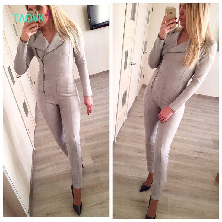 TAOVK дизайн новая мода Россия стиль Весной и Осенью женщин комбинезоны купить на AliExpress